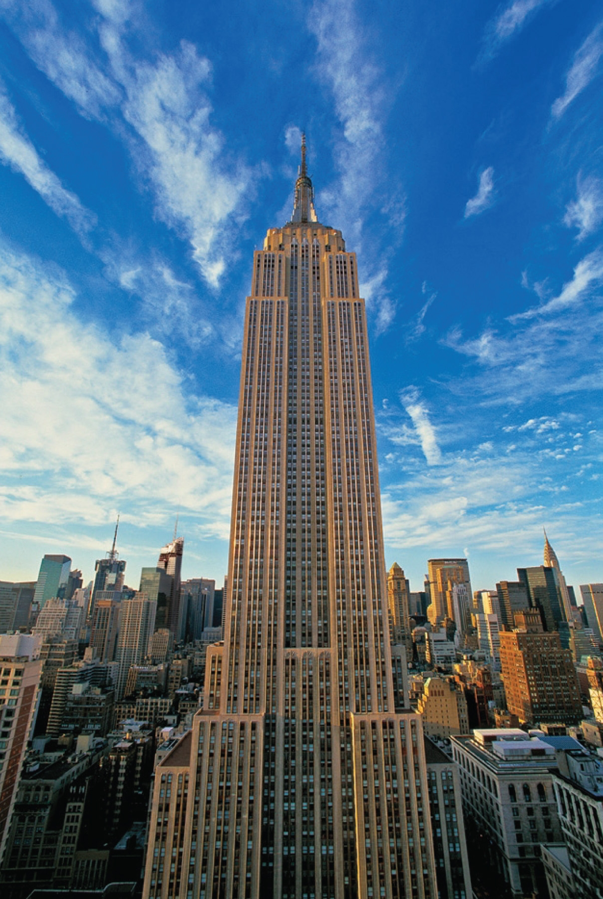 Empire state building for Building sans fenetre new york