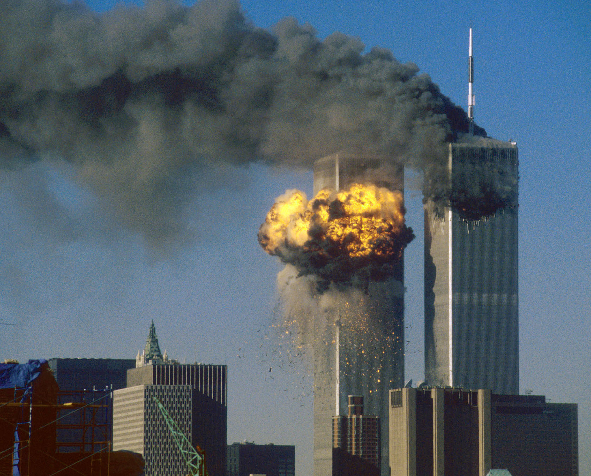 911 twin towers picture