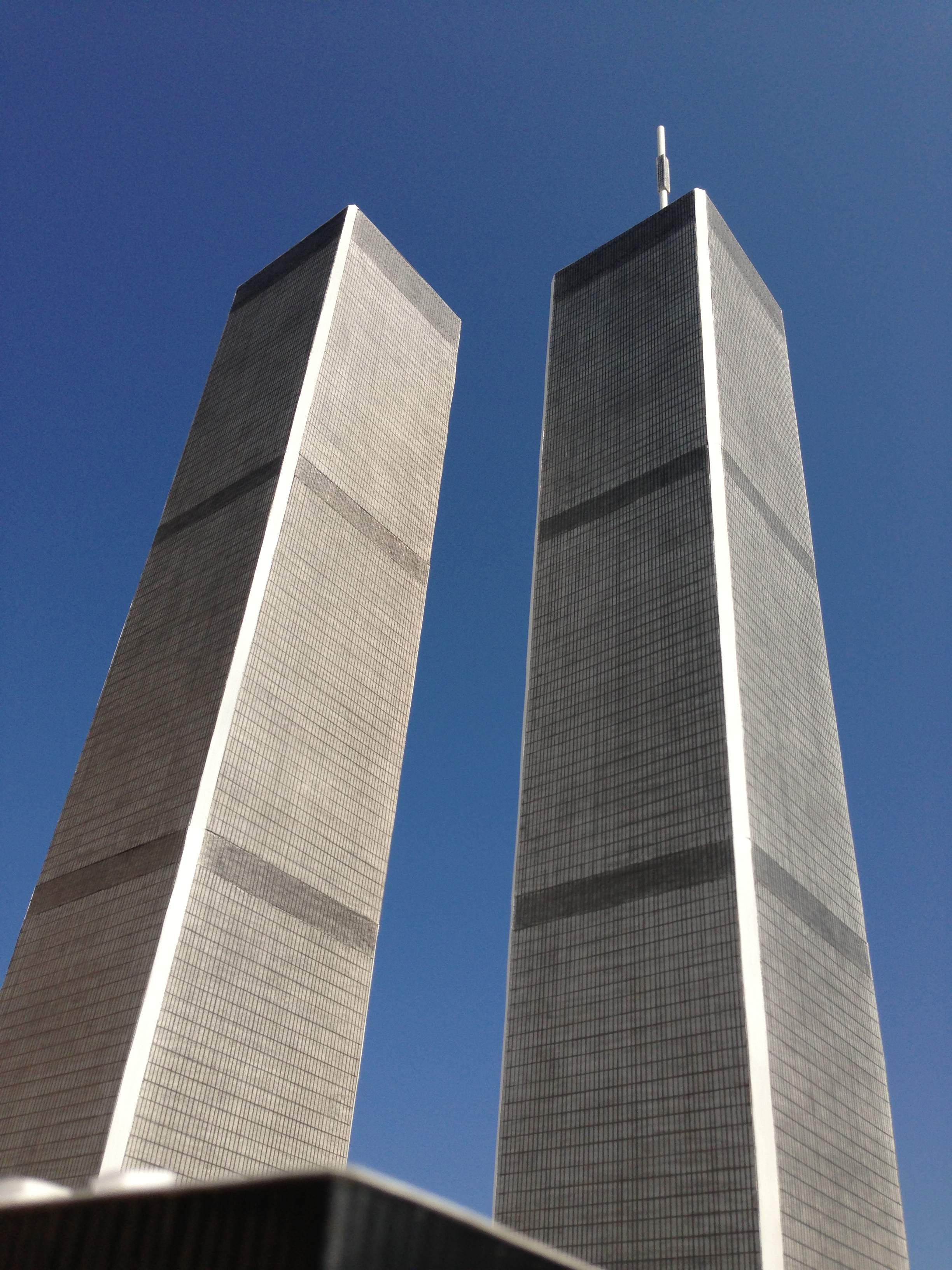 Twin towers for Architecte 3d 2001